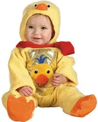 Duck Toddler Halloween Costume Einstein Duck Baby Halloween Costume