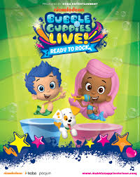 bubble guppies live tidemark theatre