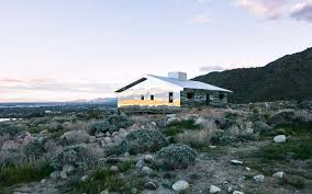 this mirrored house blends right into the desert travel leisure