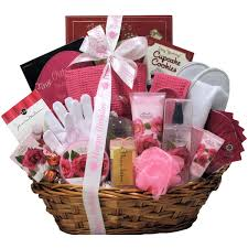 spa birthday gift basket for women birthday gift baskets for