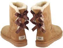 womens ugg boots bow ugg boots womens bailey bow chestnut from an authorised official