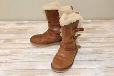 womens ugg becket boots ugg australia becket chestnut boots womens size 11 m ebay