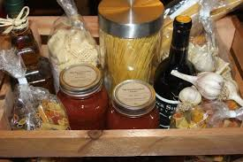 home grown and home made christmas gift baskets creating gifts