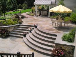 Outdoor Patio Ideas For Small Spaces Patio Marvelous Patios Designs Brown Square Classic Wooden