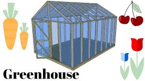 free greenhouse plans youtube