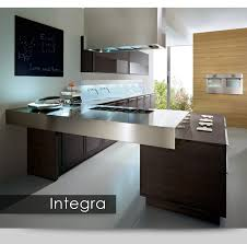 Modern European Kitchen Cabinets by Integra Is Available In 9 Colors Of Rift Cut Oak Natural White
