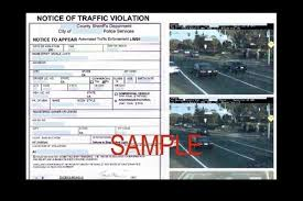 traffic light camera ticket how to deal with red light cameras