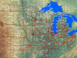 Map Of Midwest United States by Country Maps United States