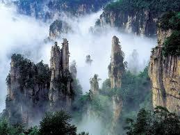 beautiful tianzi mountains china looks just like the movie