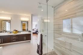 Tile Africa Bathrooms - contemporary full bathroom with european cabinets by cody haworth