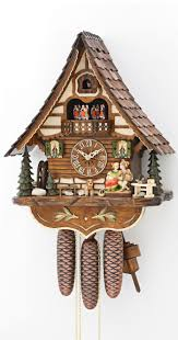 How To Wind A Cuckoo Clock Cuckoo Clock Moveable Kissing Couple 8 Day Running Time With