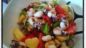 cuisiner les pommes de terre de noirmoutier salade de pommes de terre tiède de noirmoutier aux supions à l ail