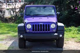 purple jeep 2016 jeep wrangler sport jk northern motor group