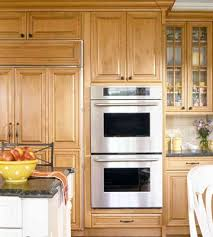 Double Wall Oven Cabinet Must Have Kitchen Features