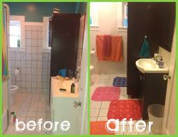 Can You Paint Bathroom Wall Tile 500 Bathroom Makeover In 3 Days