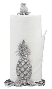 amazon com arthur court pineapple 14 1 2 inch paper towel holder