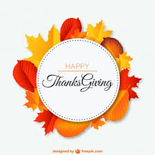 cosy free thanksgiving vector happy with autumn leaves wreath