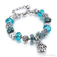 pandora bracelet with charms images Gorgeous bracelets with charm beads for pandora pendant bracelets jpg