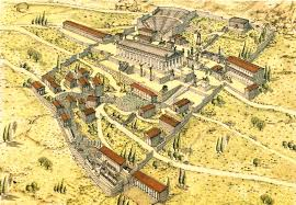 Delphi Greece Map by Omphalos Of Gaia Navel Of The Earth Delphi With The Temple Of