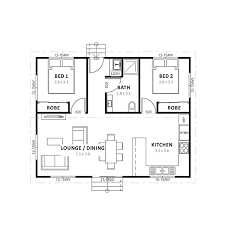 Two Bedroom Granny Flat Floor Plans Marion Tasmania U0027s Designer Building Specialist