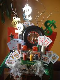 las vegas and casino gift basket