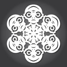 have a rebellious holiday with these rogue one snowflake designs
