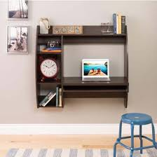 Floating Wall Desk Prepac Floating Wall Mounted Desk With Storage And Keyboard Tray
