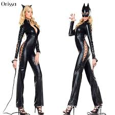 Cool Cat Halloween Costume Buy Wholesale Leather Cat Costume China Leather Cat