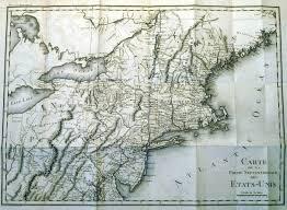 Upper Midwest Map 1800 U0027s Pennsylvania Maps