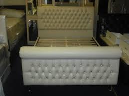 Royal Bed Frame Royal Faux Leather Bed Frame City Furniture Shop
