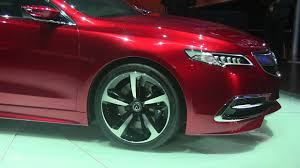 Acura Tl Redesign Detroit Behold The Strangely Familiar 2015 Acura Tlx The Fast