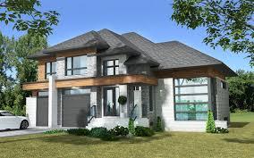 100 prairie style house mascord plan 1339 the briarwood for