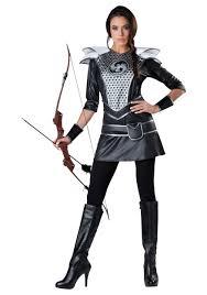 fire costume halloween huntress costume