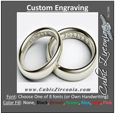 how to engrave a ring custom engraving for cubic zirconia jewelry rings etc cubic