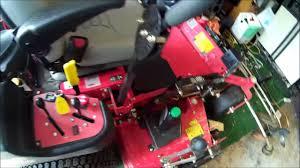 kawasaki fx691v oil change on gravely pro turn 152 diy vlog youtube
