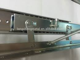 table extension slide mechanism lc 010 heavy duty spring lifting table slide with adjustment
