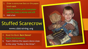 Barn Dance Names Stuffed Scarecrow