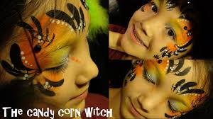 cute halloween witch face painting tutorial with google glass view