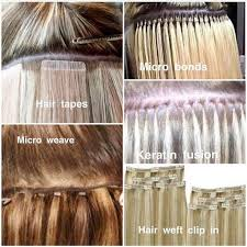 choosing the best type of hair extensions hair extensions