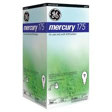 Mercury Vapor Light Fixtures 175 Watt by Ge Miser Mercury Vapor Lamp 175w 26439 Hid Security Light