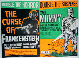 the curse of frankenstein the mummy double feature movie