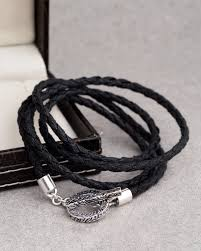 black thread bracelet images Productsnautical black thread circle band bracelet jewellery store jpg