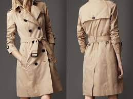 tan trench coat on the hunt