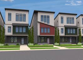 row houses urban lofts rowhouses at villebois mark stewart house plans