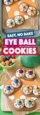 Eyeball Appetizers For Halloween by Easy Monster Eyeball Cookies Fork And Beans