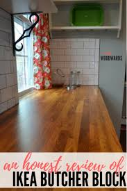 How To Install Butcher Block Countertops by A Review Ikea Butcher Block Countertops And Waterlox Finish