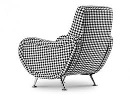 Funky Armchairs Uk Seashell Modern Armachair Black U0026 White Patern Funique Co Uk
