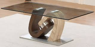 Walnut And Glass Coffee Table 3 Exclusive Torino Walnut And Oak Coffee Table With Glass Top