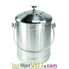 poubelle compost pour cuisine poubelle à compost inox anti odeur pour cuisine 4 litres achat