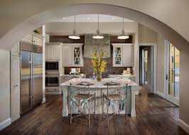 architecture archway and custom designed cabinets plus industrial
